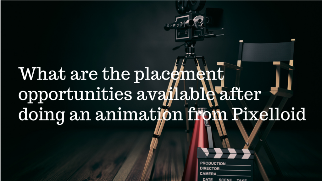 placement opportunities available after doing an animation from pixelloid